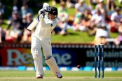 Latham, Taylor fifties drive New Zealand reply