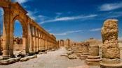 IS demolishes more monuments in Syria's Palmyra
