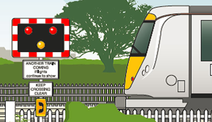 Safety measures needed at level crossings