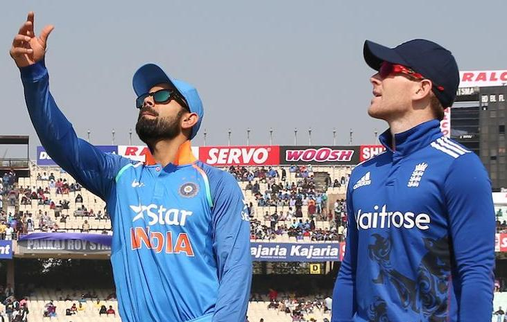 India win toss, elect to bowl against England at Eden