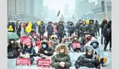 Fresh turmoil in S Korea as minister arrested  over 'arts blacklist'