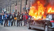 Over 200 arrested at Trump inauguration protests in US