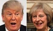 Theresa May to meet Donald Trump on Friday