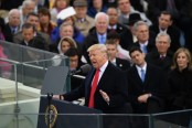 Trump inauguration: President attacks 'dishonest' media over crowd photos