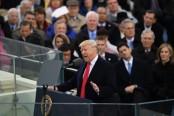 Trump inauguration: President attacks 'dishonest' media over crowd photos