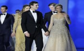 Trump's children revel in first 24 hours in White House