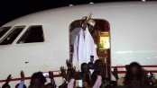 Ex-President Yahya Jammeh leaves the Gambia after 22 years of rule