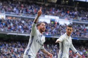 Sergio Ramos scores twice as Real Madrid beat Malaga to extend La Liga lead