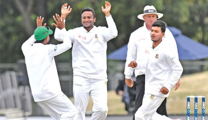 Shakib magic cleans out NZ middle order