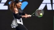 Serena storms toward title