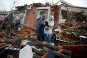 US storms: At least 18 dead in Georgia and Mississippi