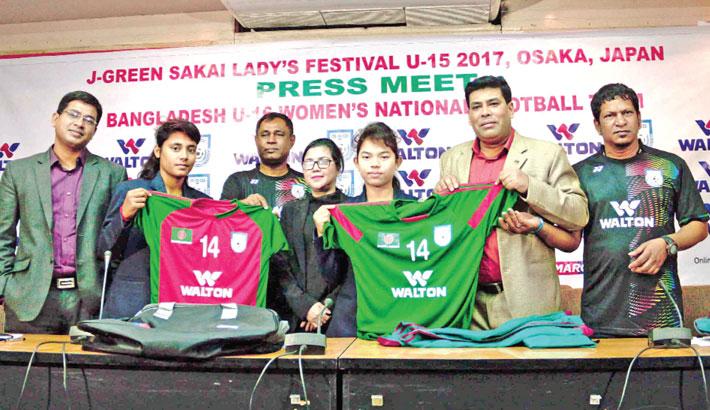 U-16 Women's footballers to learn skills in Japan
