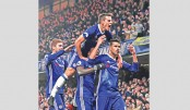 Costa stars as Chelsea extend lead, Arsenal go second