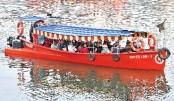 Hatirjheel water taxi service gets popular