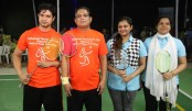 Table Tennis doubles, Badminton doubles' final held