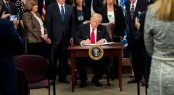 Donald Trump signs executive order to build wall with Mexico