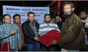 Union Bank distributes blankets among cold hit people