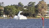 Australia Day plane crash into Swan River leaves two dead, fireworks cancelled (Video)