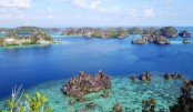 A Pacific paradise in the Raja Ampat islands