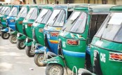Private auto-rickshaws running commercially