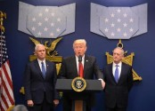 Donald Trump signs executive order to ban refugees and rebuild the military