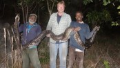 US recruit two professional Snake Catchers from India's Tamil Nadu to arrest growing Python menace