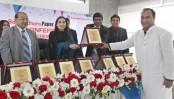 Bashundhara Paper Mills Ltd honours 10 of its distributors