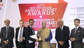 IDLC wins SAFA award for Best Presented Annual Report 2015