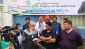 """Netherlands ambassador Leoni visits """"Comfit Composite Knit Ltd"""""""