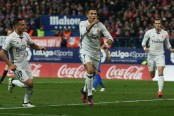Ronaldo fires Real Madrid four points clear at top of La Liga