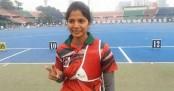 Bangladeshi archer Hera Moni wins gold medal