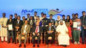 Mustafizur, Shila get best sportsman of the year award
