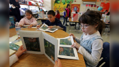 Nearly 60 percent of children like reading for fun