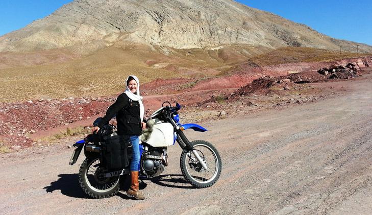 A motorcycling adventure across Iran