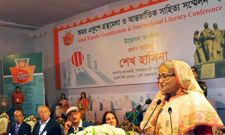 Prime Minister Sheikh Hasina says the practice of literature can bring the deviants into right path