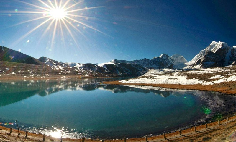 Sikkim encompasses amazing natural beauty of Himalayas