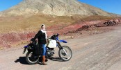 A motorcycling adventure across Iran