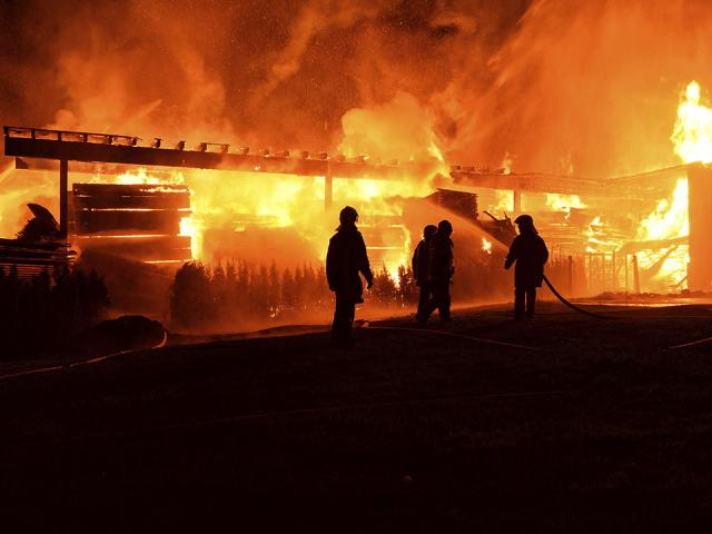 more than injured fire philippines factory complex