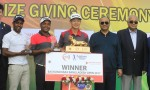 Golfer Siddikur claims second place in Bashundhara Bangladesh Open