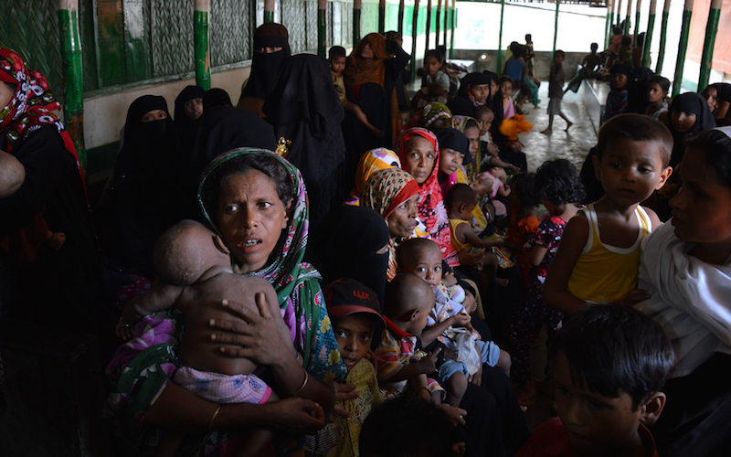 Myanmar forces raped Rohingya women, girls: HRW