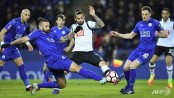 Leicester City beat Derby 3-1 in FA Cup fifth round replay