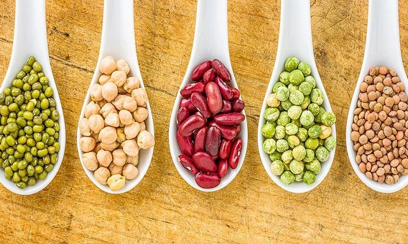Not meat but legumes, nuts and Kale also give big muscles