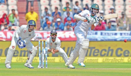 I don't think about so many things when I go to bat: Shakib