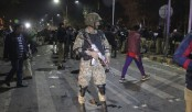 At least 10 killed including two police officials as 'suicide bomb' hits Lahore rally