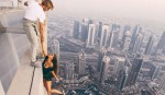 Russian model slammed for dangerous photography stunt at Dubai skyscraper