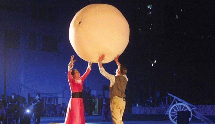 Russian Theatre  Troupe Tours Bangladesh