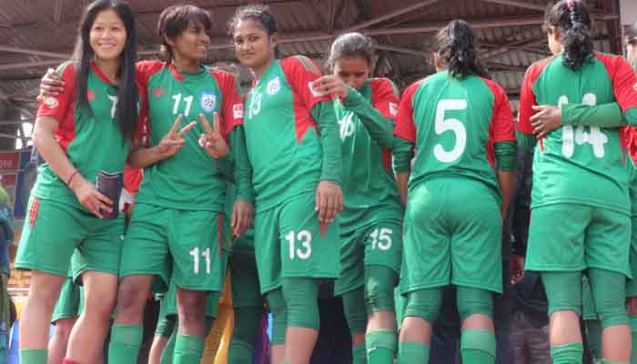 Bangladesh women football team concede 0-3 defeat to Singapore