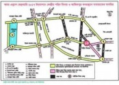 Shaheed Minar route map finalized for 21st February