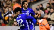Pedro, Diego Costa on target as Chelsea edge past Wolves in FA Cup