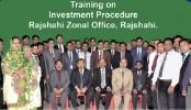 "FSIBL organises ""Investment Procedure"" training in Rajshahi"